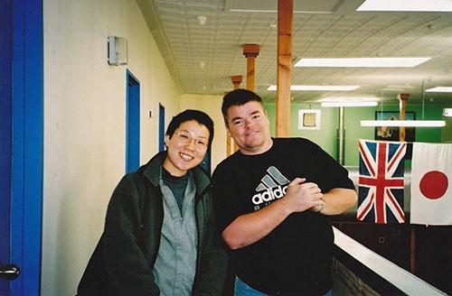 2001年の頃の菊乃、私です